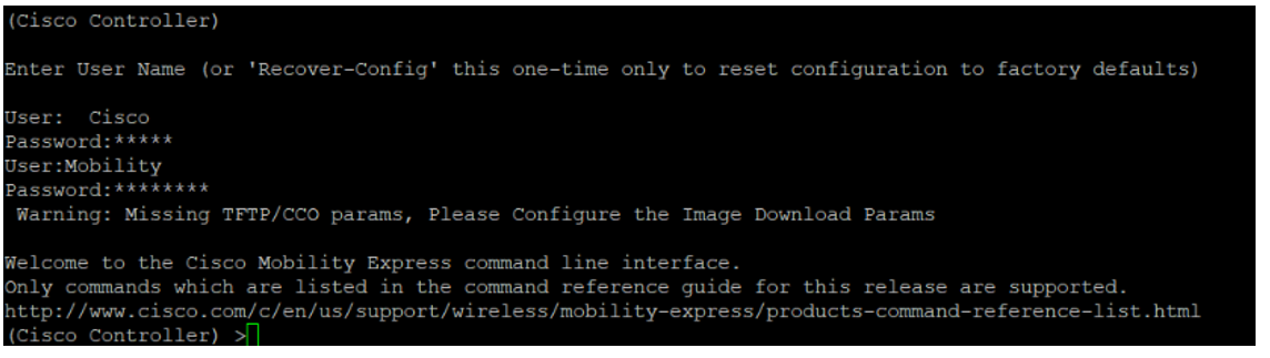 Cisco 3802i CAPWAP AP Conversion to MOBILITY EXPRESS ACCESS